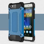 til Huawei Ascend P8 lite lyse blå cover Armor Guard Mobiltelefon tilbehør