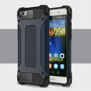 Huawei Ascend P8 lite cover mørkeblå Armor Guard Mobiltelefon tilbehør