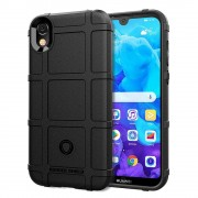 Rugged shield case Huawei Y5 2019 sort Mobil tilbehør