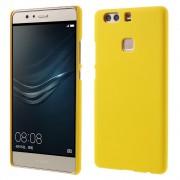 HUAWEI P9 PLUS bag cover etui gul, Mobiltelefon tilbehør