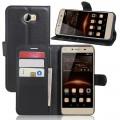 Huawei Y5 2 cover med lommer sort