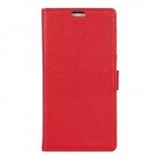 Huawei Y3 2 rød flip cover med kort lommer, Huawei y3 2 covers