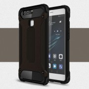 HUAWEI P9 cover armor guard sort Leveso Mobil tilbehør Leveso.dk