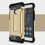 HUAWEI P9 cover armor guard guld Leveso Mobil tilbehør