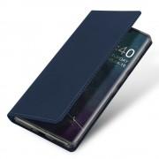 blå Slim flip etui Huawei Mate 30 Pro Mobil tilbehør