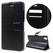 Slim cover med kort lommer Huawei Y6 2 sort Mobil tilbehør
