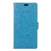 Huawei Y6 2 cover med lommer blå Mobiltelefon tilbehør