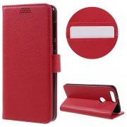 HUAWEI HONOR 8 cover m lommer rød Mobiltelefon tilbehør