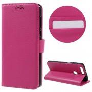 HUAWEI HONOR 8 cover m lommer rosa Mobiltelefon tilbehør