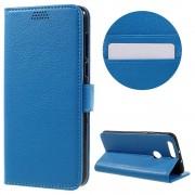 HUAWEI HONOR 8 cover m lommer blå Mobiltelefon tilbehør