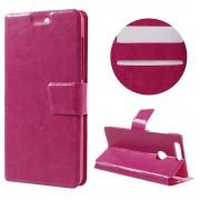 HUAWEI HONOR 8 cover m kort lommer rosa Mobiltelefon tilbehør