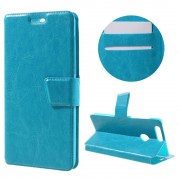 HUAWEI HONOR 8 cover m kort lommer blå Mobiltelefon tilbehør