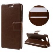 HUAWEI HONOR 8 cover m kort lommer brun Mobiltelefon tilbehør