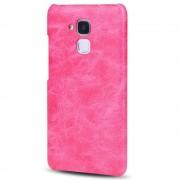 HUAWEI HONOR 7 lite cover vintage læder rosa Mobiltelefon tilbehør