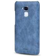 HUAWEI HONOR 7 lite cover vintage læder blå Mobiltelefon tilbehør