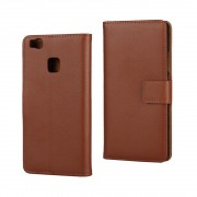 HUAWEI P9 LITE ægte læder cover brun, Mobiltelefon tilbehør