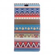 Huawei Y6 2 Compact cover med mønster Tribal Geometric Figure Mobiltelefon tilbehør