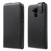 Huawei Honor 7 lite cover vertikal flip sort Mobiltelefon tilbehør