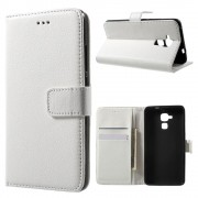 Huawei Honor 7 lite etui med lommer hvid Mobiltelefon tilbehør