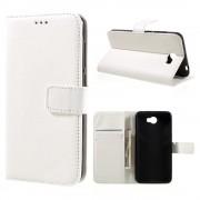 Huawei Y5 2 etui med lommer hvid Mobiltelefon tilbehør