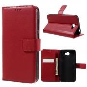 Huawei Y5 2 etui med lommer rød Mobiltelefon tilbehør