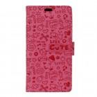 rosa hylster til Huawei Nova etui cartoon Mobiltelefon tilbehør