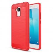 Til Huawei Honor 7 lite rød cover robust armor Mobiltelefon tilbehør