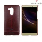 Til Huawei Mate 8 rød cover Pierre Cardin design læder Mobiltelefon tilbehør