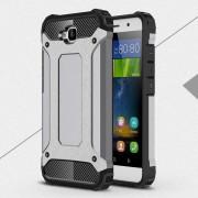 Til Huawei Y6 Pro grå cover Armor Guard Mobiltelefon tilbehør