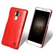 Til Huawei Mate 9 rød cover Pierre Cardin ægte læder Huawei Mobil tilbehør