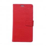 Huawei Mate 9 Pro etui i ægte læder rød Leveso.dk Mobiltelefon tilbehør