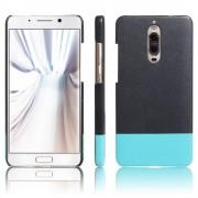 til Huawei Mate 9 Pro sort-cyan cover d-line Mobiltelefon tilbehør