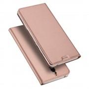 Huawei Mate 9 Pro slim rosaguld cover med kort lomme Leveso.dk Mobil tilbehør