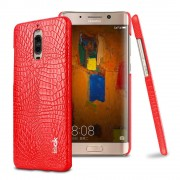 Huawei Mate 9 Pro rød cover croco læder Mobil tilbehør