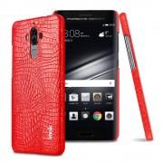 Cover til Huawei Mate 9 rød croco læder Huawei Mobil tilbehør