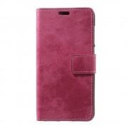 Huawei Honor 8 Lite cover rosa i retro stil Huawei honor 8 lite mobil tilbehør hos Leveso.dk