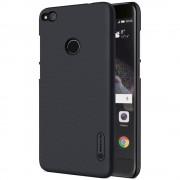 Huawei Honor 8 lite cover sort med skærm beskyttelse, Huawei covers og tilbehør