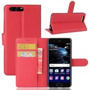 Vilo flipcover rød Huawei P10 Mobil tilbehør