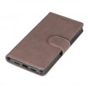 Huawei P8 lite brun flip cover i retro stil Mobilcovers