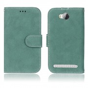 Huawei Y3 2 cover i retro stil grøn, Huawei y3 2 covers