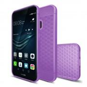 Huawei P10 lite silicone cover lilla Mobilcovers
