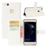Huawei P10 Lite praktisk flip cover hvid, Huawei p10 lite mobiltilbehør