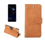Cover i vintage stil brun til Huawei P10 Mobiltilbehør