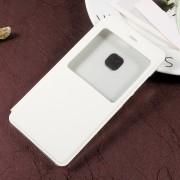 Huawei P10 Lite cover med smart vindue hvid, Huawei p10 lite covers