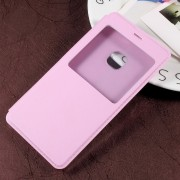 Huawei P10 Lite pink cover med smart vindue, Huawei p10 lite covers