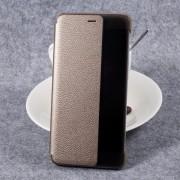 Huawei P10 plus smart view flip cover guld, Huawei covers