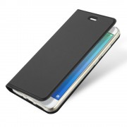 Slim flip cover sort Huawei p10 lite Mobilcovers