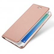 Slim flip cover rosaguld Huawei p10 lite Mobilcovers