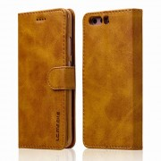Flip cover brun Huawei P10 Mobilcovers