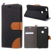 JC-style Huawei P10 lite flip cover med lommer Mobilcover